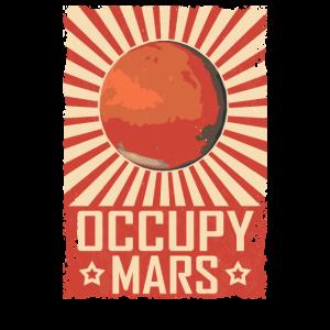Retro Occupy Mars