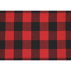 Flanell Karo Muster Rot