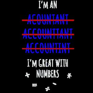 Buchhalter Gut Mit Zahlen