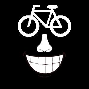 Fahrrad Smile Biker Smily Radfahrer Radfahren