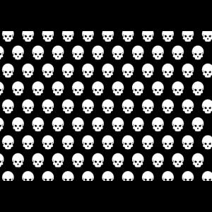 Totenkopf Muster Pattern