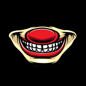 Covid19 Infektionsschutz,Mund Nasen Schutz Clown