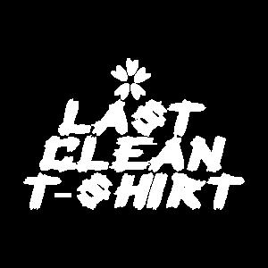 Letztes sauberes Hemd