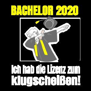 Bachelor 2020 Studenten Abschluss Dabbing Uni