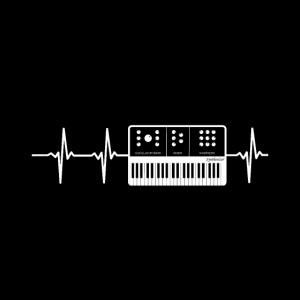 Mundschutz Pulse Linie Synthi Synthesizer
