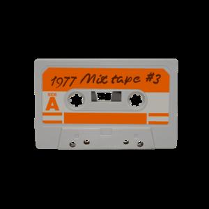 Vintage Mix Tape Kassette von 1977
