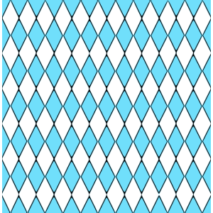 Hellblau weiß Karo
