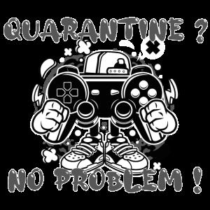 Quarantäne-T-Shirt? Kein Problem! Spielen
