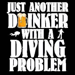Taucher Saufen Party Trinken Taucher Tauchschein