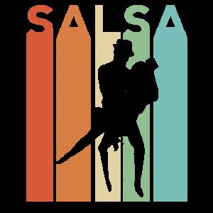 Salsa Retro Vintage Tanz Cumbia Musik Latein