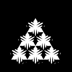 Atomic Triangle White