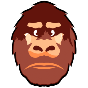 Gorilla affen-gorilla gorilla