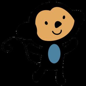 Baby Äffchen, Baby Affe Geschenkidee für Babys
