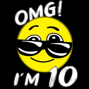 10 Geburtstag OMG