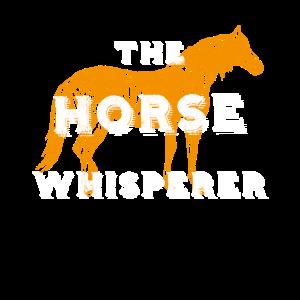 HORSE Whisperer Vintage Reitliebhaber Retro Geschenk