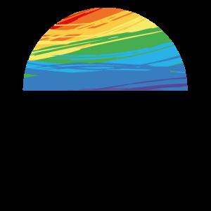 Regenbogen Halbkreis