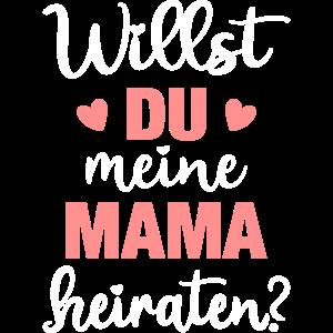 Heiratsantrag Papa Willst du meine Mama heiraten?