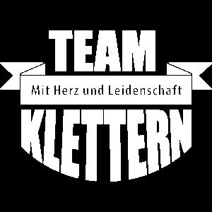 TEAM KLETTERN – Climbing Teamshirt Sport Outdoor