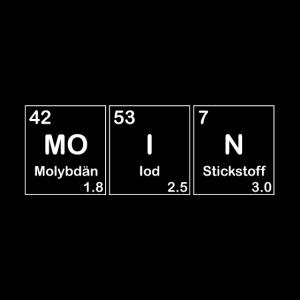 Elemente Periodensystem Moin, Norden Design