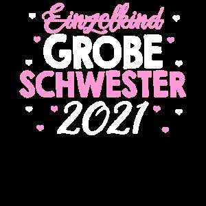 Einzelkind Schwester Geburt 2021 Tochter Geschenk