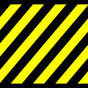 Absperrband schwarz gelb