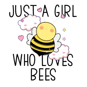 Just a Girl Who Loves Bees Cute bee Queen Girls Gi