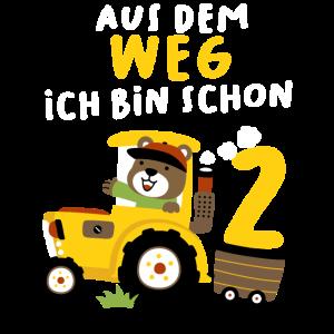 2. Geburtstag Junge Traktor Ich Bin Schon 2 Jahre