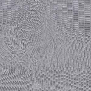 Schlangenmustermaske - grau