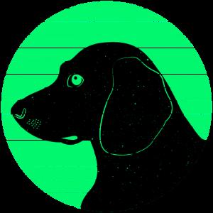 Hundeliebhaber - Beagle Illustration