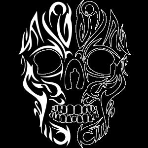 Tribal Skull 2