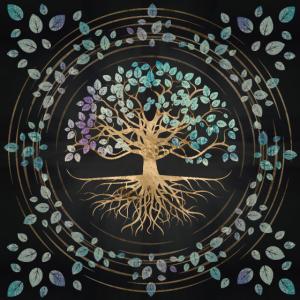 Baum des Lebens - Yggdrasil -