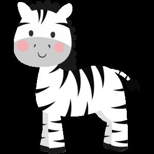 Süßes Zebra
