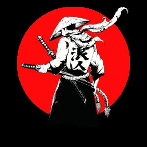 Samurai japanischer Krieger