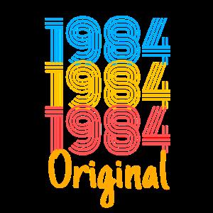 1984 Geburtstag / Geschenk