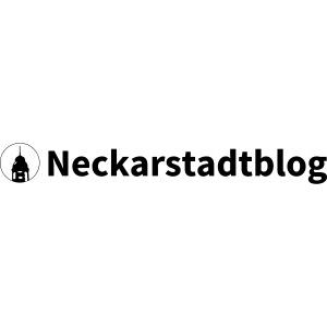Neckarstadtblog Logo schmal (alternative Farben)