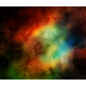 Watercolor Colored Space
