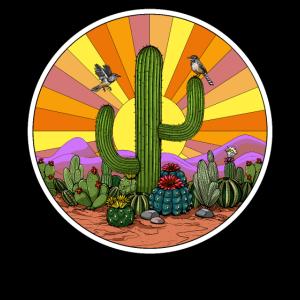 Hippie-Kaktus-Wüste