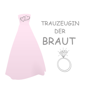 TRAUZEUGIN der Braut