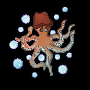 Oktopus Kranken Tintenfisch Gewässer Meer Tier