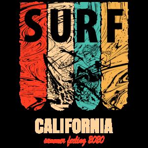 Surfing 2020 summer feeling california