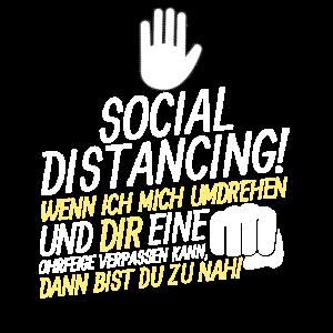 Social Distancing Umdrehen & Ohrfeige