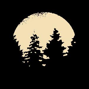 Natur Wald Freiheit Wildnis Shirt Design