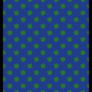 Muster Glücksklee für Deko oder