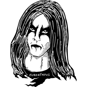 black metal makeup