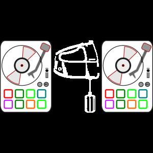 witziges Design für DJs