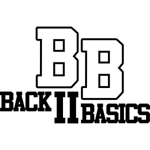 Logo Back To Basics 1 couleur vectorise
