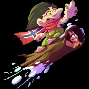Snowboarder-Troll