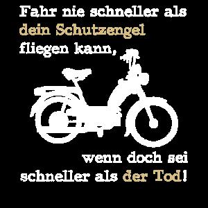 mofa biker Motorrad moped Strasse mofafahrer tod