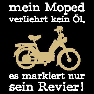 mofa biker Motorrad moped Strasse mofafahrer o l r