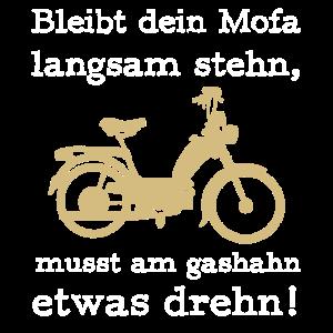 mofa biker Motorrad moped Strasse mofafahrer gasha